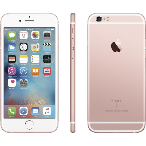Apple MKTY2LL/A iPhone 6s Plus 128GB - Rose Gold : BrandsMart USA