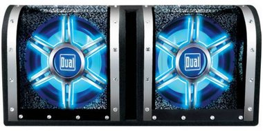 Dual - 12 Illuminiation Bandpass Subwoofer