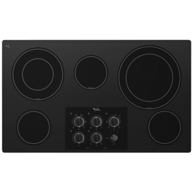 Whirlpool - 36 Electric Cooktop