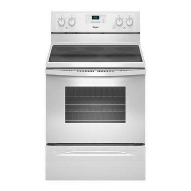 Whirlpool - 30 Electric Smooth Top Range