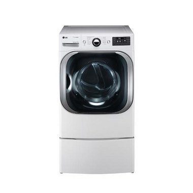 LG - 9.0 CuFt Electric Dryer
