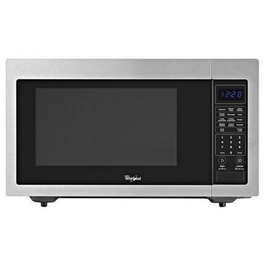 Whirlpool - 1.6 CuFt Countertop Microwave