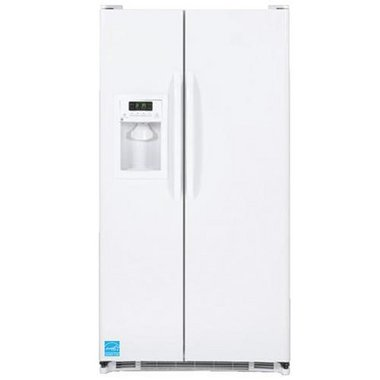 GE - 25.3 CuFt Side-By-Side Refrigerator
