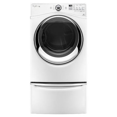 Whirlpool - 7.4 CuFt Duet Front Load Electric Dryer