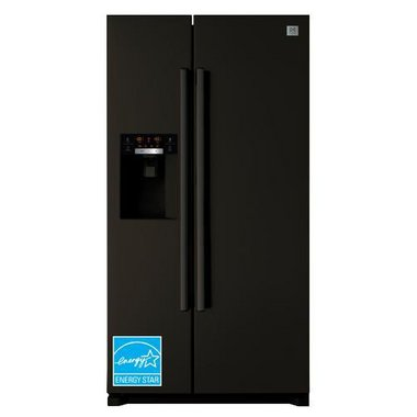 Daewoo - 21.5 CuFt Counter Depth Side-By-Side Refrigerator