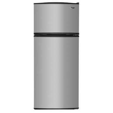 Amana A8rxngfbs 17 6 Cuft Stainless Steel 2 Door Top