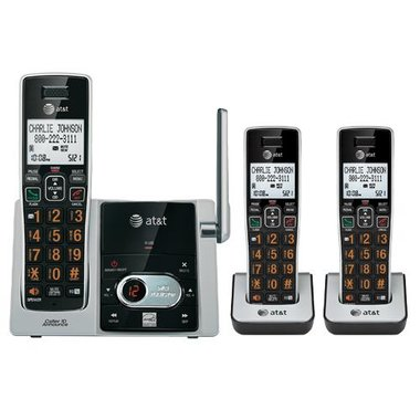 AT&T - DECT 6.0 3 Handset Cordless Phone With Digital Answering Machine