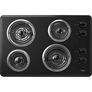 Whirlpool - 30 Electric Cooktop