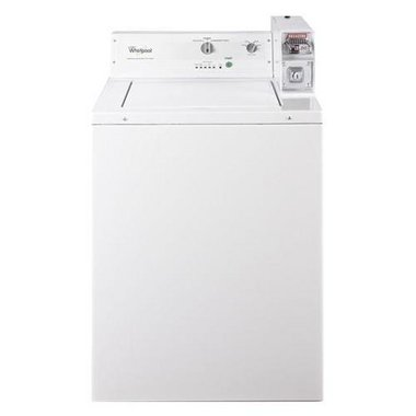 Whirlpool - 2.9 CuFt Top Load Commercial Washer