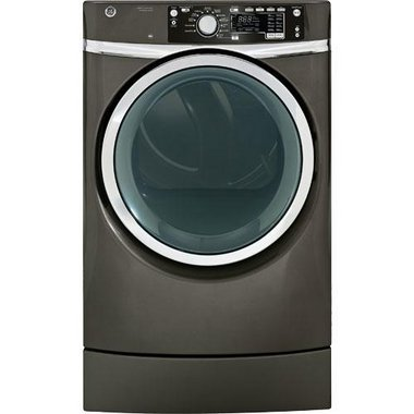 GE - 8.3 CuFt Front Load Electric Dryer
