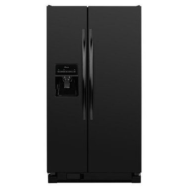 Amana - 24.5 CuFt Side-By-Side Refrigerator