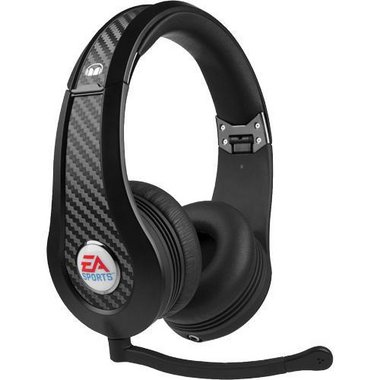 Monster - Game MVP Carbon By EA Sports Noise-Isolating On-Ear Headphones