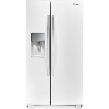 Whirlpool - 30.0 CuFt Side-By-Side Refrigerator