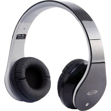 iLive - Bluetooth Over-The-Ear Headphones