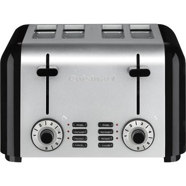 Cuisinart - Compact Stainless Steel 4 Slice Toaster