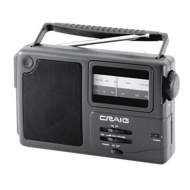Craig - Portable AM/FM Radio With Weather Band