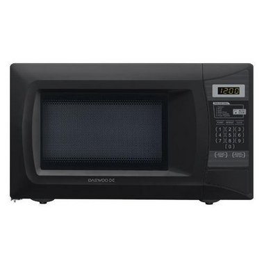 Daewoo - 0.7 CuFt Countertop Microwave