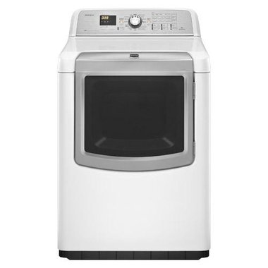 Maytag - 7.3 CuFt Bravos XL Electric Dryer