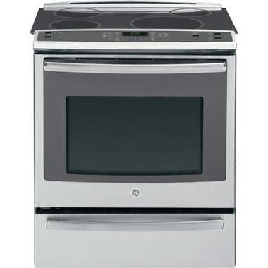 GE - 30 Slide-In Electric Range