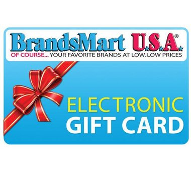 BrandsMart USA Gift Card - $100 Electronic Gift Card