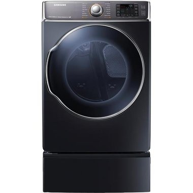 Samsung - 9.5 CuFt Front Load Electric Dryer
