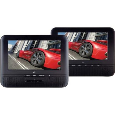 GPX - 7 Portable DVD Player Dual Screen