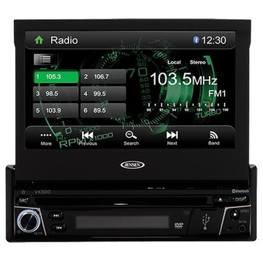 Jensen - 7 Multimedia Receiver With Built-In Bluetooth