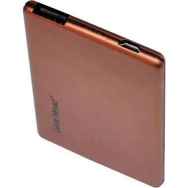 Gear Head Media - Wallet-Size Series 1800 mAh Lithium-Polymer USB Portable Power
