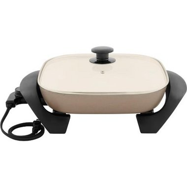 Oster - 12 Square DuraCeramic Electric Skillet