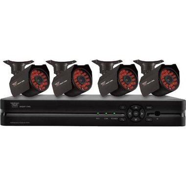 Night Owl - 4 Camera 8 Channel Video Security System