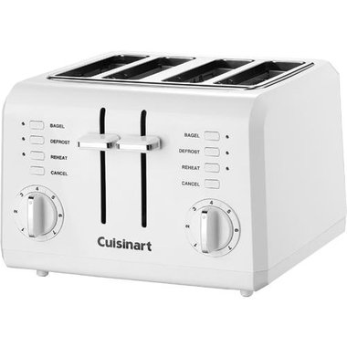 Cuisinart - 4 Slice Compact Toaster