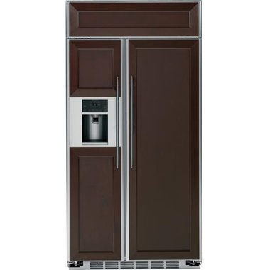 GE - 24.4 CuFt Built-In Side-By-Side Refrigerator