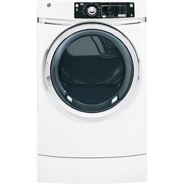 GE - 8.1 CuFt Front Load Electric Dryer