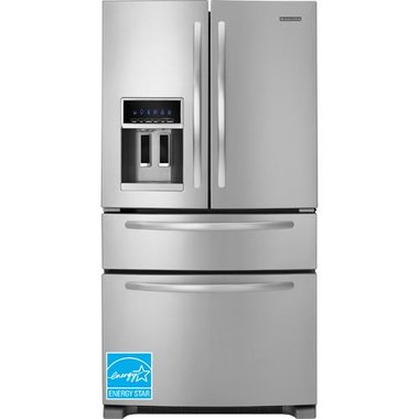 KitchenAid - 24.5 CuFt French Door Refrigerator