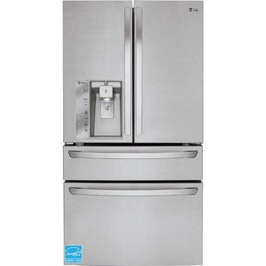 LG - 23.0 CuFt Counter Depth French Door Refrigerator