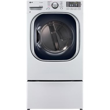 LG - 7.4 CuFt Front Load Gas Dryer