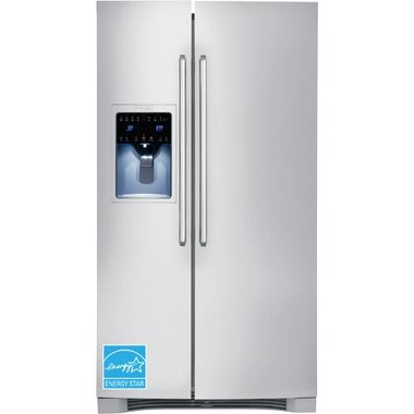 Electrolux - 25.5 CuFt Side-By-Side Refrigerator