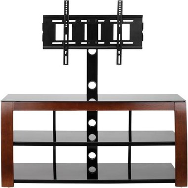 Etec - 50 Swiveling Flat Panel TV Mount Stand