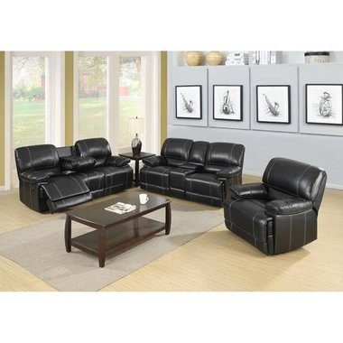 Global Furniture - Breckenridge 3 Piece Living Room Group