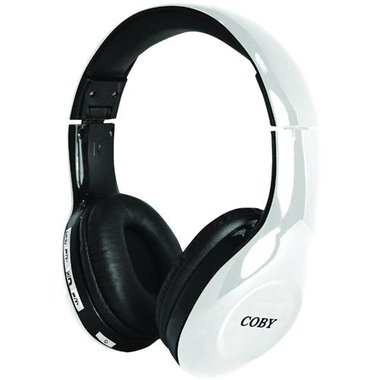 Coby - Scope Wireless Bluetooth Over-The-Ear Headphones