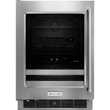 KitchenAid - 14 Bottle Dual Zone Wine Cooler