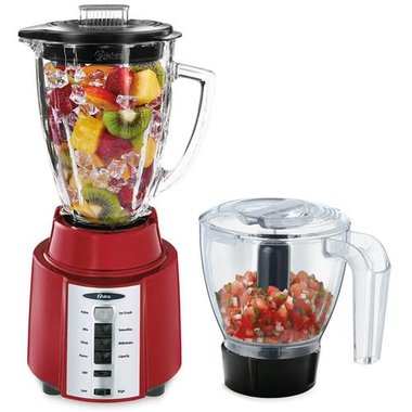 Oster - 8 Speed Blender With Food Processor Accessory