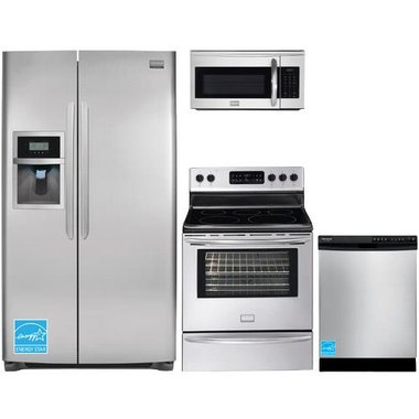 Frigidaire - Stainless Steel Complete Kitchen Package
