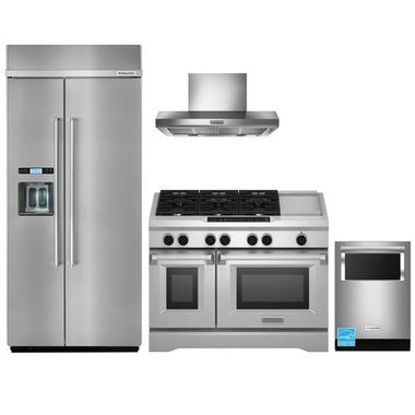 KitchenAid - Stainless Steel Complete Kitchen Package