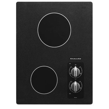 KitchenAid - 15 Electric Cooktop
