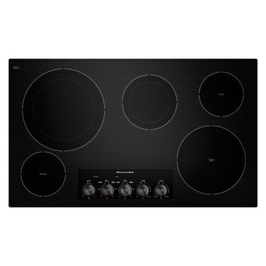 KitchenAid - 36 Electric Cooktop
