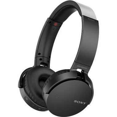 Sony - Extra Bass Wireless Bluetooth Over-The-Ear Headphones