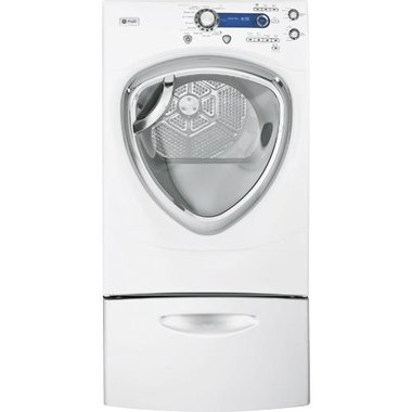 GE - 7.5 CuFt Front Load Electric Dryer
