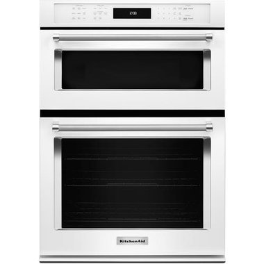 KitchenAid - 27 Built-In Combination Microwave/Wall Oven
