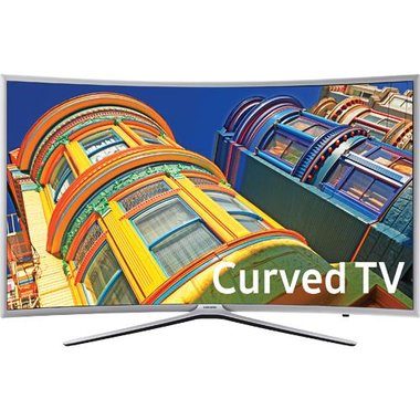 Samsung - 55 Class Smart Curved LED 1080p HDTV With Wi-Fi